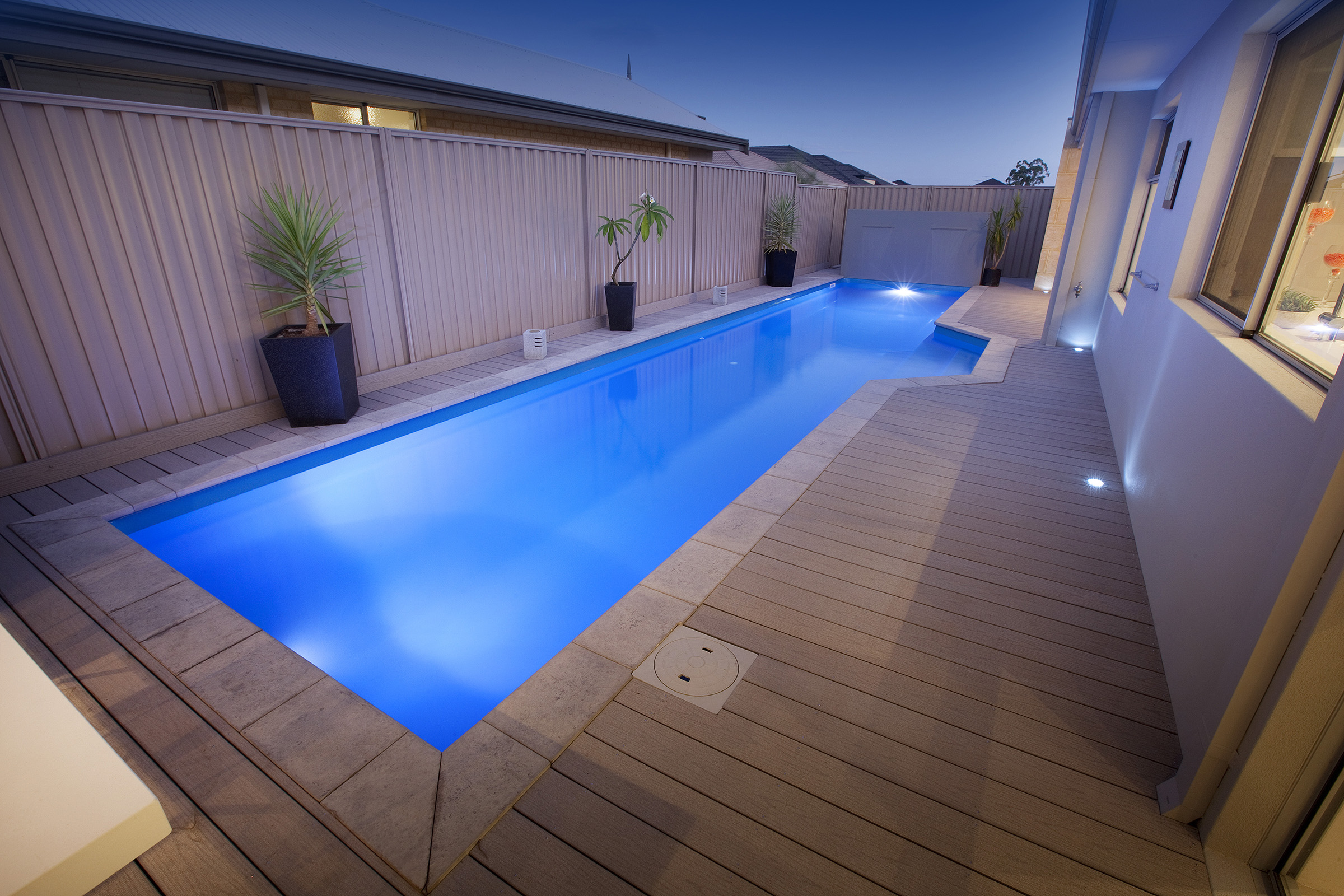 Fibreglass – Lap Pool